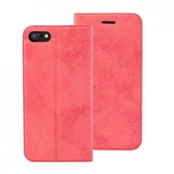 Huawei P20 Lite Magnet Book Case Luxus Velour Red