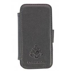 IPhone 5/5S/SE SmartCase Noblesse Peter Jäckel Commander Dark Grey