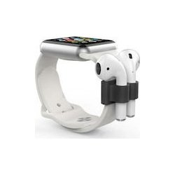 Apple EarPods Silicon Base Watch Band AhaStyle PT47 Black