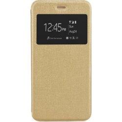 """Alcatel POP 3 5.5"""" S-View Flexi Case Gold"""
