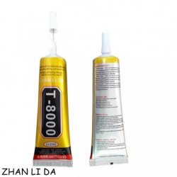 Zhanlida T-8000 Adhesive Glue 50ml Clear