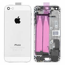 IPhone 5 Housing/Battery Cover With Flex Cables White