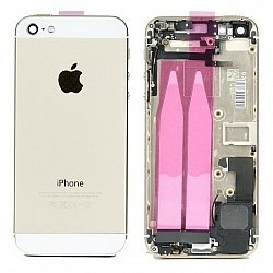 IPhone 5 Housing/Battery Cover With Flex Cables Gold
