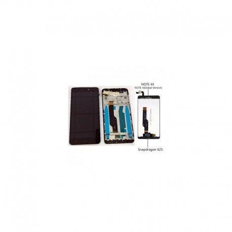 Xiaomi Redmi Note 4X/Note 4 Global Lcd+Touch Screen+Frame Black