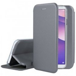 Huawei P30 Lite Book Case Magnet Hard Grey