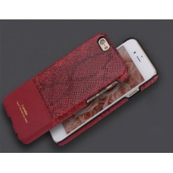 IPhone 6 Plus / 6S Plus i-Smile IPH1167-RD Case Snakeskin Red
