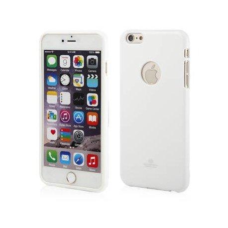 IPhone 7/8 I-Jelly Metal Mercury Case White