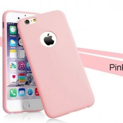 IPhone 6/6s Silky And Soft Touch Finish Silicon Case Light Pink