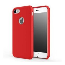 IPhone 7/8 Silky And Soft Touch Finish Silicon Case Red