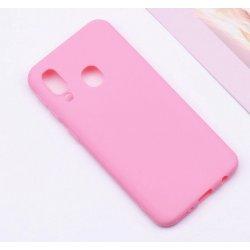 Samsung Galaxy A20 A205 Silicone Case Pink