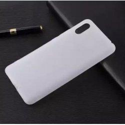 Samsung Galaxy A20 A205 Silicone Case Matte Transperant