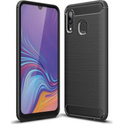Samsung Galaxy A40 A405 Carbon Fiber Brushed Black