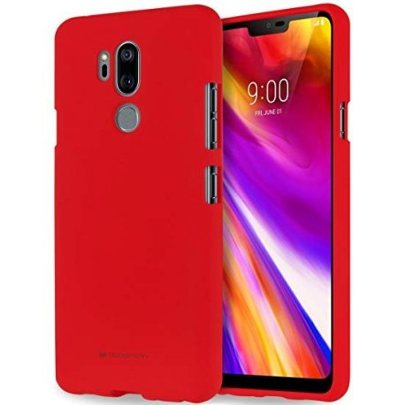 LG G7 Thinq Mercury Jelly Case Soft Feeling Red
