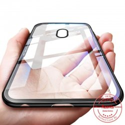 Samsung Galaxy J5 2017 J530 Transparent Armor Silicone TPU + Acrylic Case Vennus Black