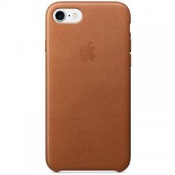 IPhone 7/8 Leather Oem Back Case Brown