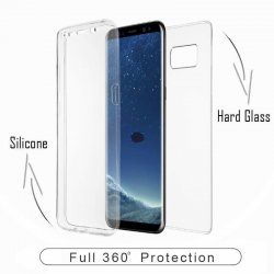 Huawei P8 Lite/P9 Lite 2017 360 Degree Full Body Case Transperant