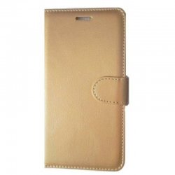 Meizu M6 Note Book Case Gold