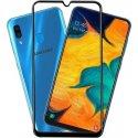Samsung Galaxy A50 A505/A30 A305 9D Full Glue Gorilla Tempered Glass 9H Black