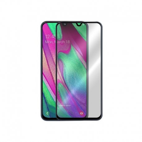 Samsung Galaxy A40 A405/A20E A202 5D Full Glue Gorrila Tempered Glass 9H Black