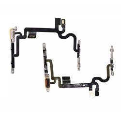 IPhone 7 Volume ON/OFF Flex Cable Silver