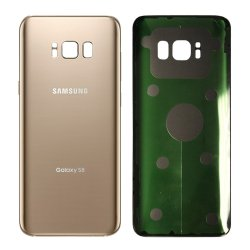 Samsung Galaxy S8 G950 Battery Cover Gold