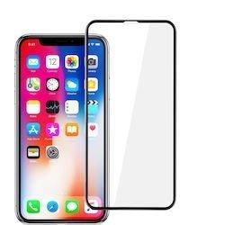 IPhone XR/11 9D Full Glue Gorilla Tempered Glass 9H Black