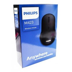 Philips Wireless Mouse M203 Black