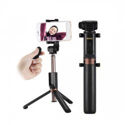 Remax RP-P9 Selfies Holder With Tripod Black