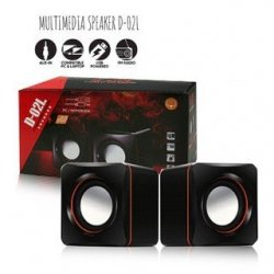 MBaccess D-02L PC/Notebook 2 Pcs Multi-Media Speaker USB 2.0