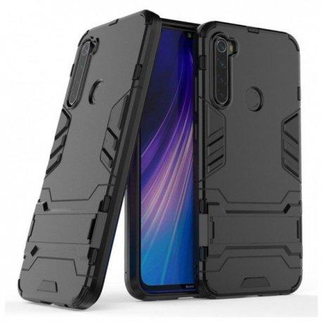 Xiaomi Redmi Note 8 Kickstand Armor Case Black