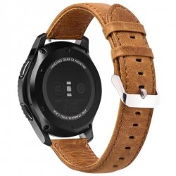 Samsung Gear S3 Belt 22mm Leather Brown