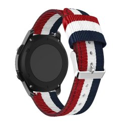 Samsung Gear S3 Belt 22mm Tech-Protect Welling Navy-Red