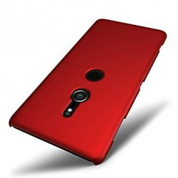 Sony Xperia XZ3 Level Guardian Soft Silicone Cover Case Red