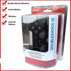 PS3 Game Controller Dubleshock III Wireless Bluetooth Black