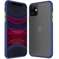 Iphone 11 Double Material Back Case Blue