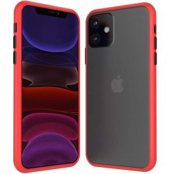 Iphone 11 Pro Double Material Back Case Red