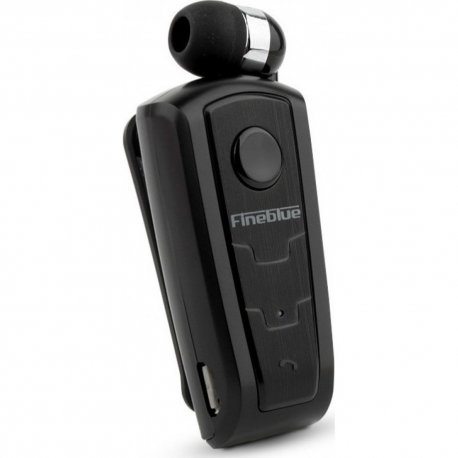 Firo H103 Clip on Retractable Bluetooth Headphone Black