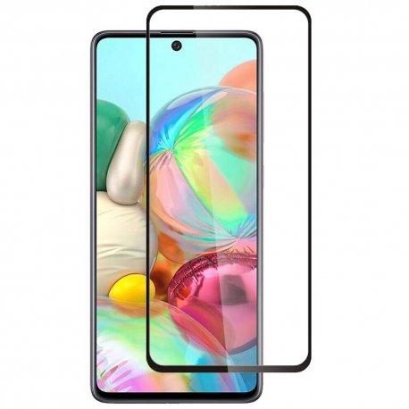 Samsung Galaxy A71 A717 Tempered Glass 9H Full Screen Black