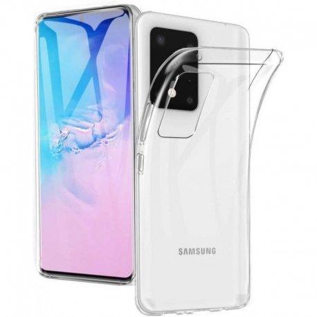 Samsung Galaxy S20 Ultra Silicone Case Transperant