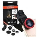MBaccess 3 in 1 Universal Fish Eye & Macro Clip Camera Lens Kit