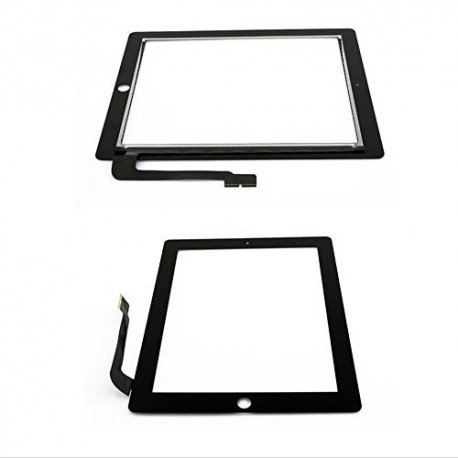 IPad 3/4 Touch Screen Black(with glue no home button)