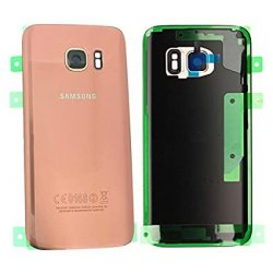Samsung Galaxy S7 G930 Battery Cover With Camera Lens RoseGold