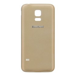 Samsung Galaxy S5 Mini G800 Battery Cover Gold