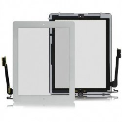 IPad 3/iPad 4 Touch Screen White(with home button)