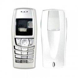 Nokia 6610 Full Body Housing Silver