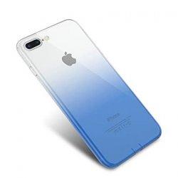 Sony Xperia X Case Transparent Gradient Color Design Blue