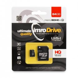 IMRO Memory Micro SD Card 64GB Without Adapter