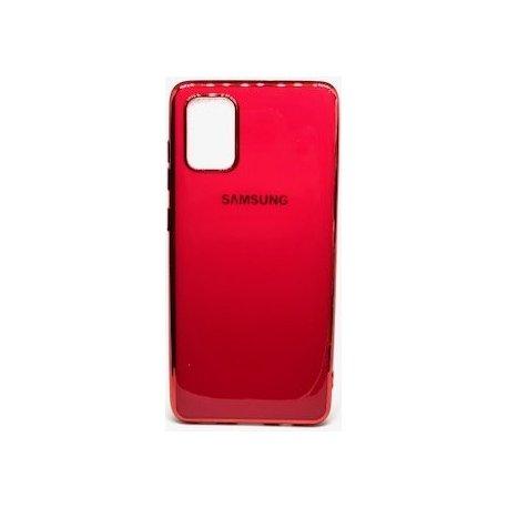 Samsung Galaxy A51 A515 Silicone Plate Executive Case Red