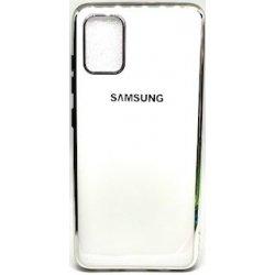 Samsung Galaxy A71 A717 Silicone Plate Executive Case White