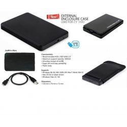 MBaccess External Usb 3.0 Enclosure HDD Slim 320G